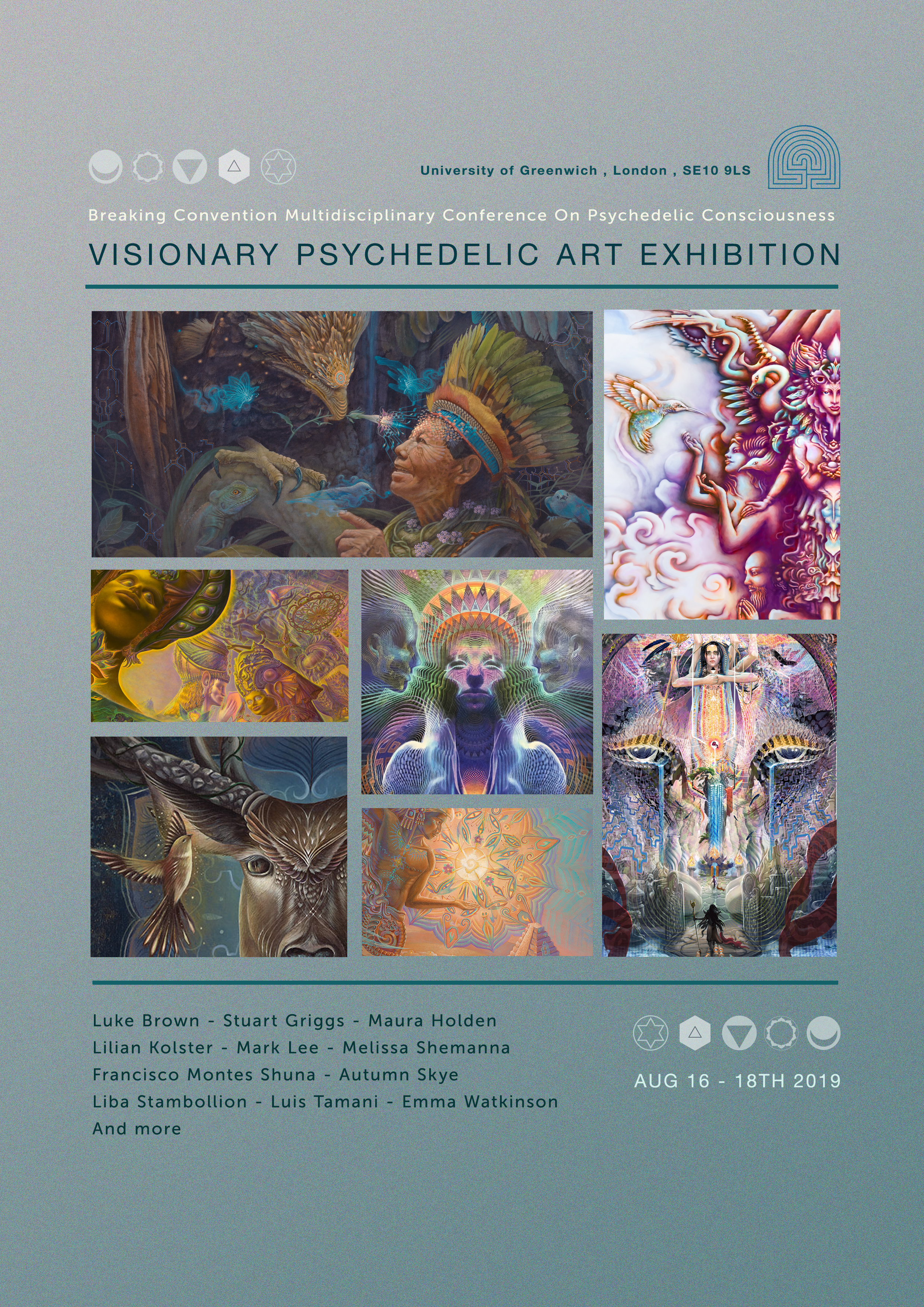 Breaking Convention 2019 Visionary Art Exhibition